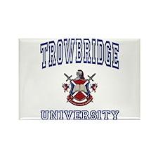 TROWBRIDGE University Rectangle Magnet