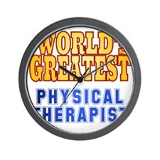 World's Greatest Physical Therapist Wall Clock