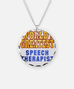 World's Greatest Speech Ther Necklace