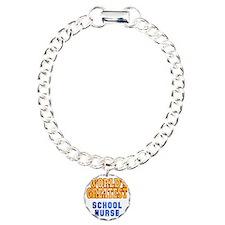 World's Greatest School  Charm Bracelet, One Charm