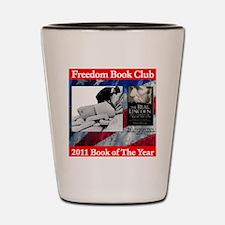 2011 Book of thye Year Shot Glass