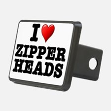 I LOVE ZIPPERHEADS Hitch Cover