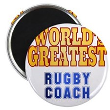 World's Greatest Rugby Coach Magnet