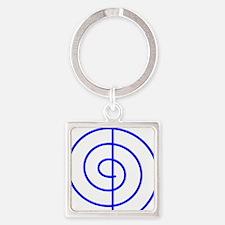 Cho Ku Rei (blue) Square Keychain