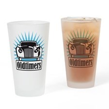 oldtimers Drinking Glass