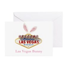 Las Vegas Easter Bunny Ears Cards Pk of 10
