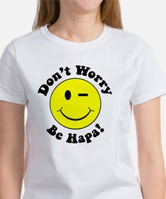 Dont worry Be Hapa! Black Tee
