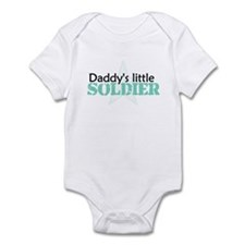 Daddy's Little Soldier Infant Bodysuit