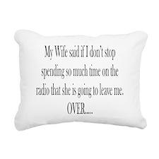 My Wife said Rectangular Canvas Pillow
