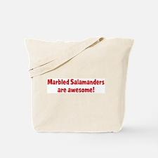 Marbled Salamanders are aweso Tote Bag