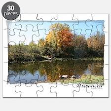 Autumn Pond Puzzle