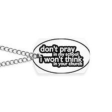 prayschool3 Dog Tags