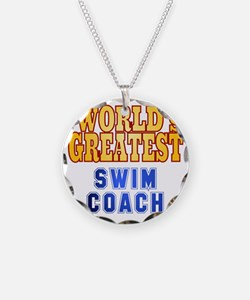 World's Greatest Swim Coach Necklace
