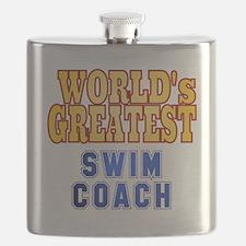 World's Greatest Swim Coach Flask