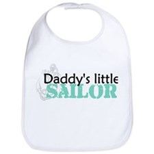 Daddy's Little Sailor Bib