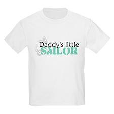 Daddy's Little Sailor Kids T-Shirt