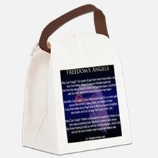 Freedoms Angels Canvas Lunch Bag