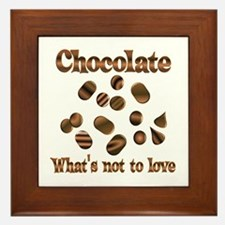 Chocolate to Love Framed Tile