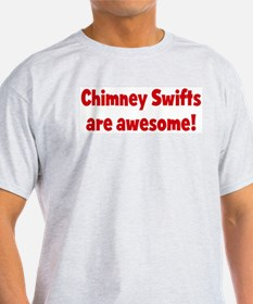 Chimney Swifts are awesome T-Shirt