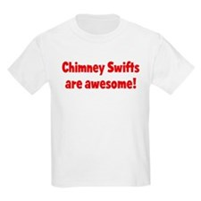 Chimney Swifts are awesome Kids T-Shirt