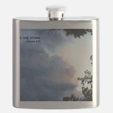 The Storm's Passing Flask