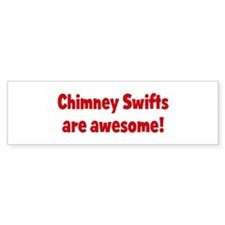 Chimney Swifts are awesome Bumper Bumper Sticker
