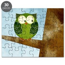 Little Green Owl Puzzle