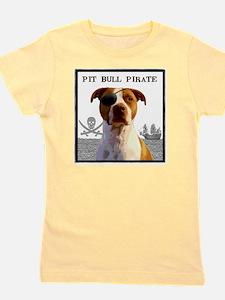 Pit Bull Pirate 2 Girl's Tee