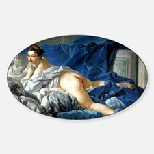 Odalisque Sticker (Oval)