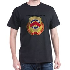 DUI - 125th Support Battalion with Te T-Shirt
