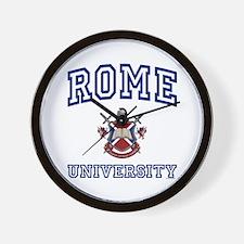 ROME University Wall Clock