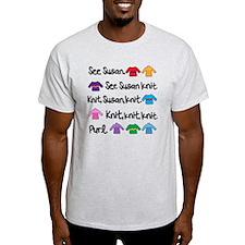 See Susan Knit Tote T-Shirt