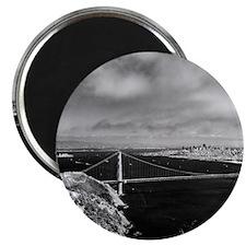 GG Bridge from Hawk Hill Magnet