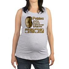 Potatoes Maternity Tank Top
