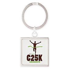 C25K Graduate Square Keychain