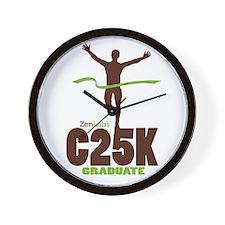 C25K Graduate Wall Clock
