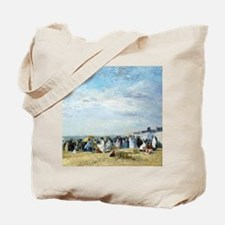 Boudin Beach of Trouville Tote Bag