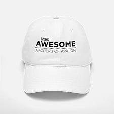 Team Awesome (Black) Baseball Baseball Cap
