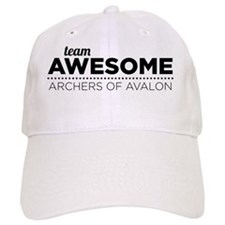 Team Awesome (Black) Baseball Cap
