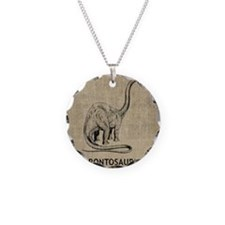 Brontosaurus Necklace
