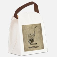 Brontosaurus Canvas Lunch Bag