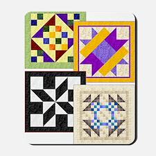 Big Block Quilts front cover Mousepad