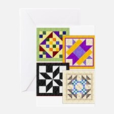 Big Block Quilts front cover Greeting Card