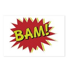 Comic Book BAM! Postcards (Package of 8)