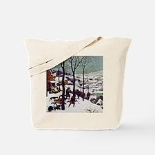Pieter Bruegel Hunters in the Snow Tote Bag