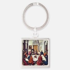 Dieric Bouts Last Supper Square Keychain