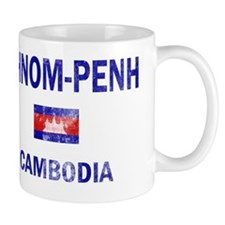phnom Penh Cambodia Designs Mug