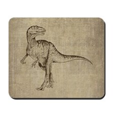 Vintage Tyrannosaurus Mousepad