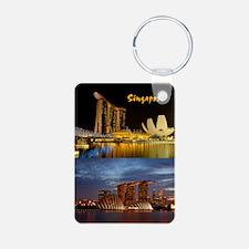 Singapore_2.34x3.2_iPhone4 Aluminum Photo Keychain