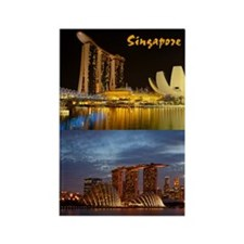 Singapore_2.34x3.2_iPhone4 Slider Rectangle Magnet